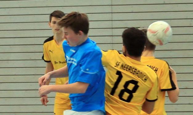 Spielpläne Korschenbroicher Jugend-Hallenstadtmeisterschaft
