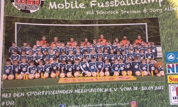 Mobiles Fussballcamp 2019 – ausgebucht !