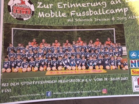 Tolles 1. Fußball-Camp in Neersbroich