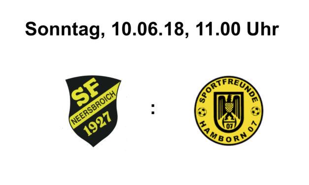 A-Jugend – 2. Spiel in der Qualifikation zur Niederrheinliga
