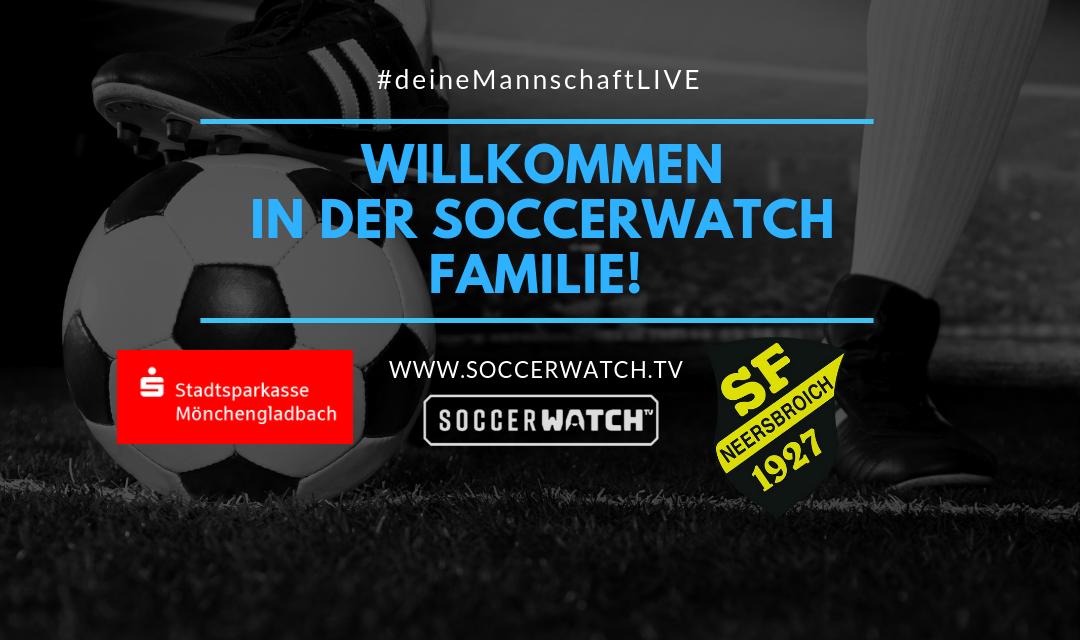 Jetzt bei uns: Soccerwatch.tv