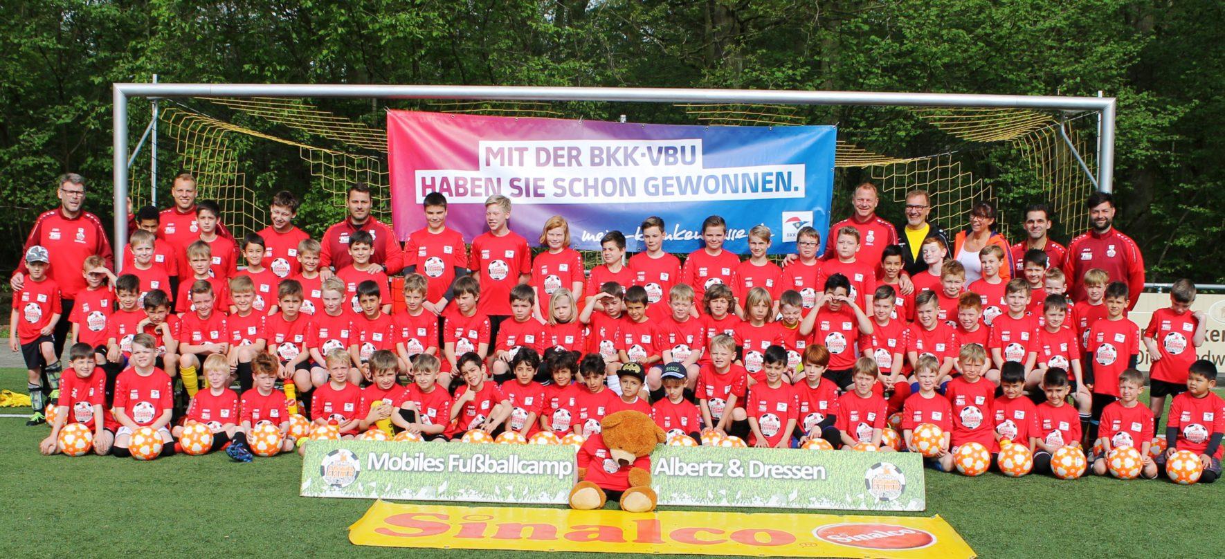 Mobiles Fußballcamp 2020 in den Sommerferien