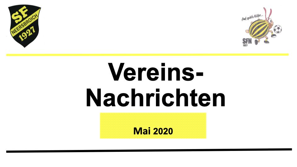 Vorstand Aktuell Mai 2020