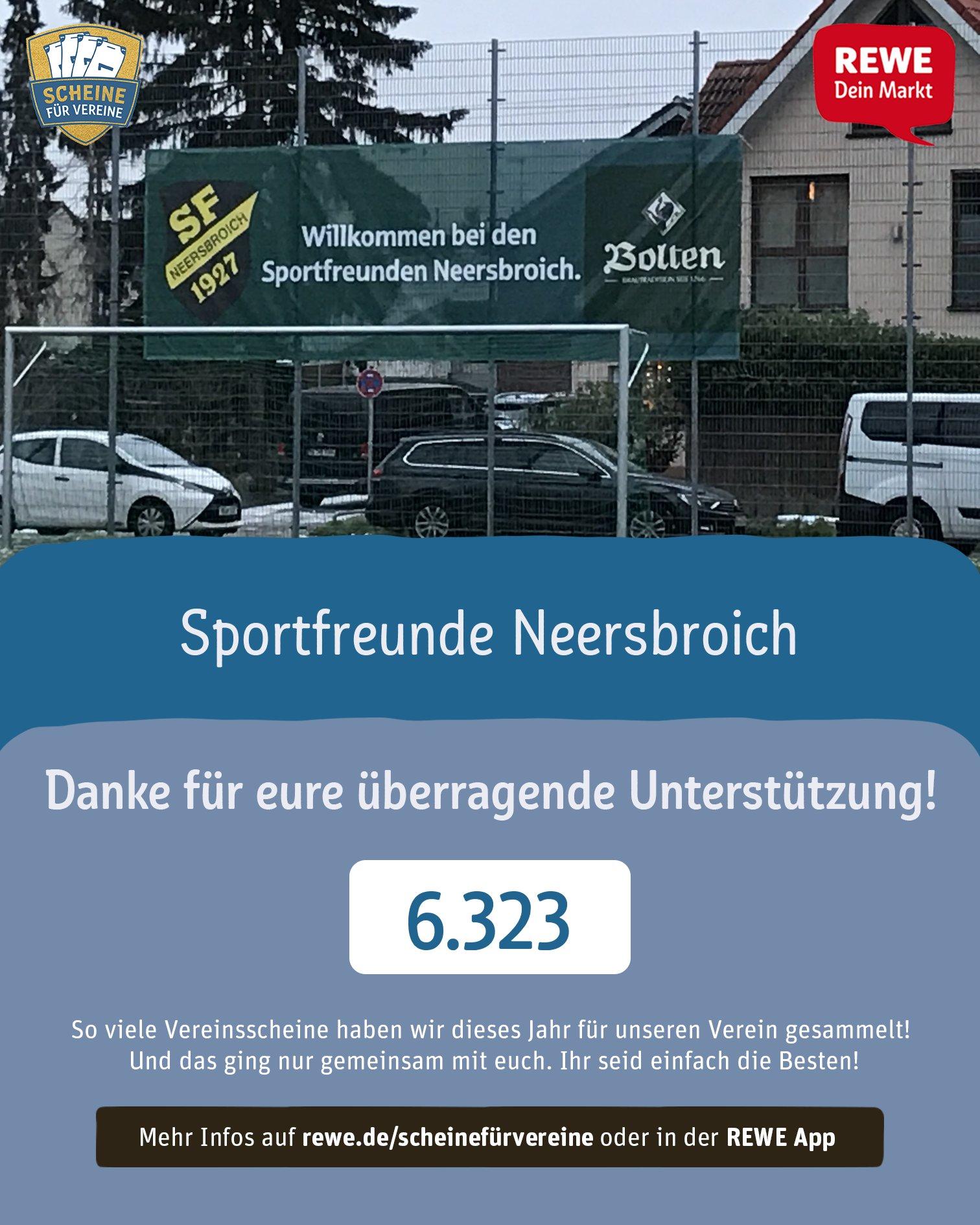 Danke schön – Scheine für Vereine